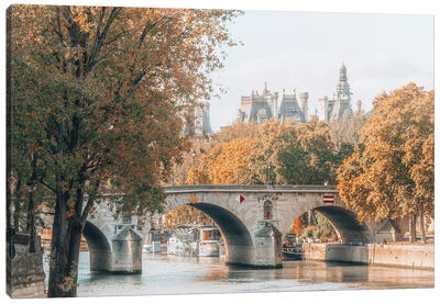 Paris In Autumn Canvas Art Print