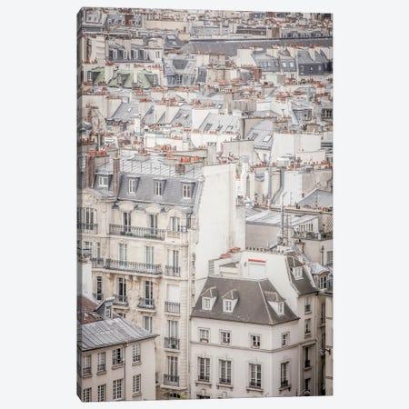 Rooftops In Paris Canvas Print #MGD36} by Magdalena Martin Art Print