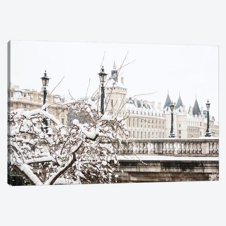 Snow In Paris Canvas Print #MGD41} by Magdalena Martin Canvas Print
