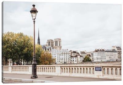 Pont Louis-Philippe Canvas Art Print