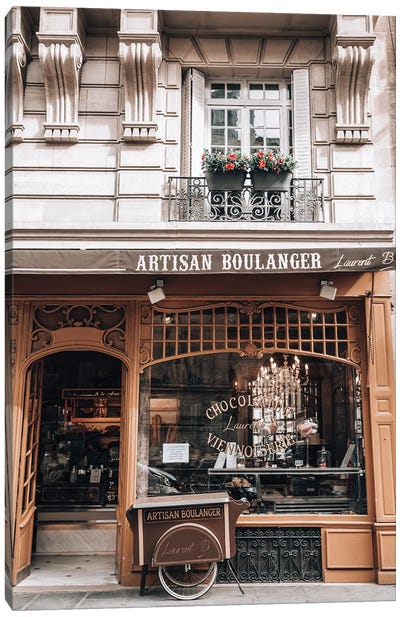 Artisan Boulanger Canvas Art Print