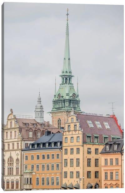 Gamla Stan Stockholm Canvas Art Print