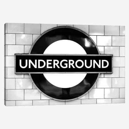London Underground Canvas Print #MGD8} by Magdalena Martin Art Print