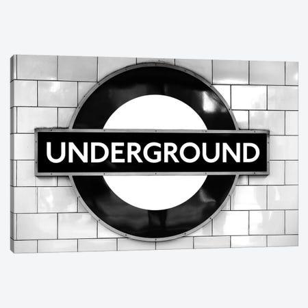 London Underground Canvas Print #MGD8} by Magdalena Martin Art Print