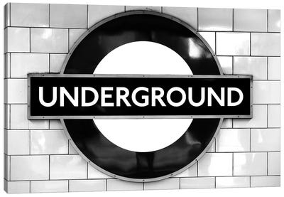 London Underground Canvas Art Print