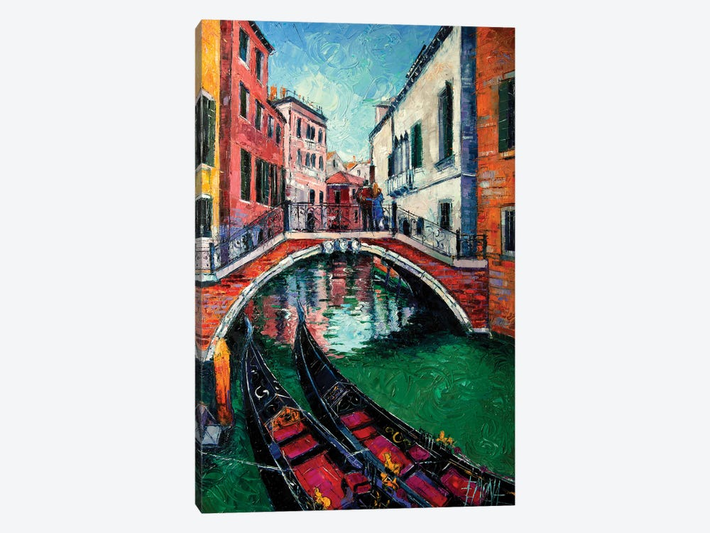 Venice Romance by Mona Edulesco 1-piece Canvas Art Print