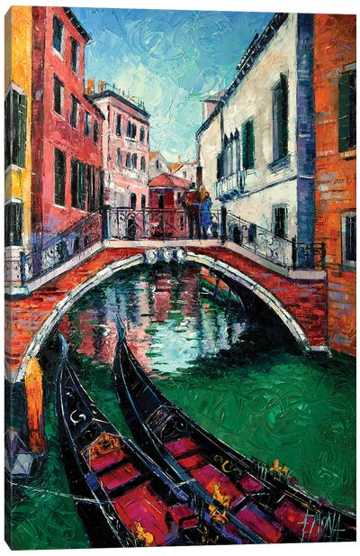 Venice Romance Canvas Art Print