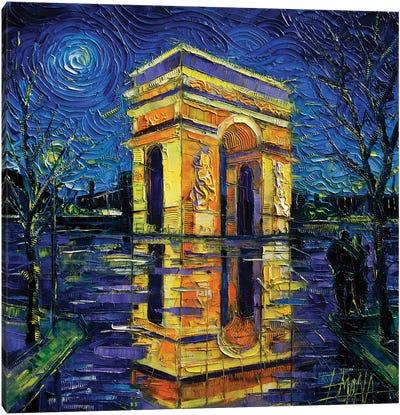 Arc de Triomphe, Paris Canvas Art Print