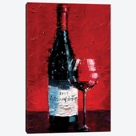 Châteauneuf-du-Pape Canvas Print #MGE13} by Mona Edulesco Canvas Print