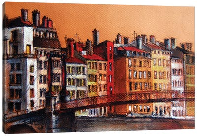 Colors Of Lyon I Canvas Art Print