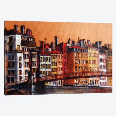 Colors Of Lyon I Canvas Print #MGE17} by Mona Edulesco Canvas Art