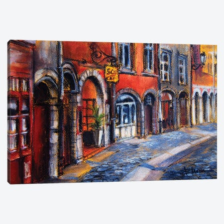 Colors Of Lyon II Canvas Print #MGE18} by Mona Edulesco Canvas Print