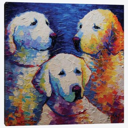 Family Portrait Canvas Print #MGE19} by Mona Edulesco Canvas Art Print