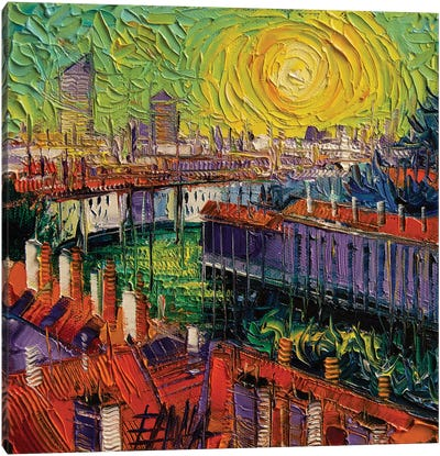 A Summer In Lyon Canvas Art Print