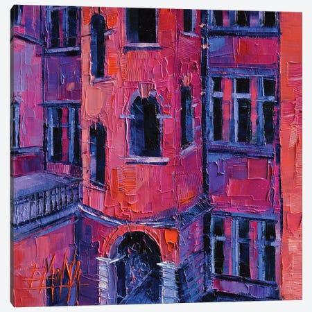 La Tour Rose Lyon Canvas Print #MGE34} by Mona Edulesco Canvas Wall Art