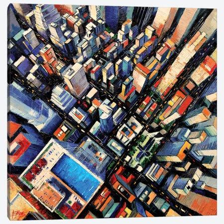 New York Sky View Canvas Print #MGE48} by Mona Edulesco Canvas Art