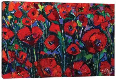 Poppies Symphony Canvas Art Print