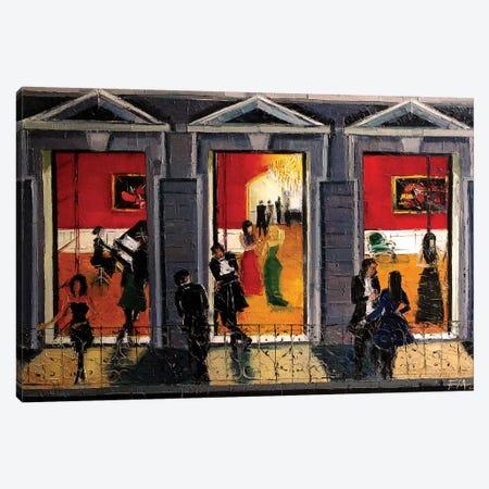 Soiree Parisienne Canvas Print #MGE67} by Mona Edulesco Art Print