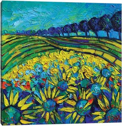 Sunflowers Phantasmagoria Canvas Art Print