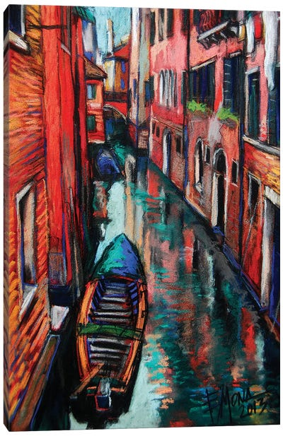 The Colors Of Venice Canvas Art Print