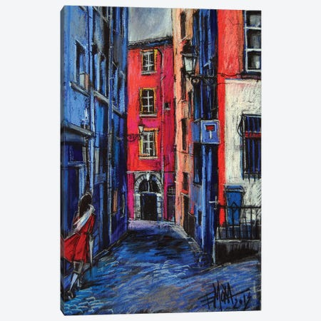 Trinité Square, Lyon Canvas Print #MGE90} by Mona Edulesco Canvas Art Print