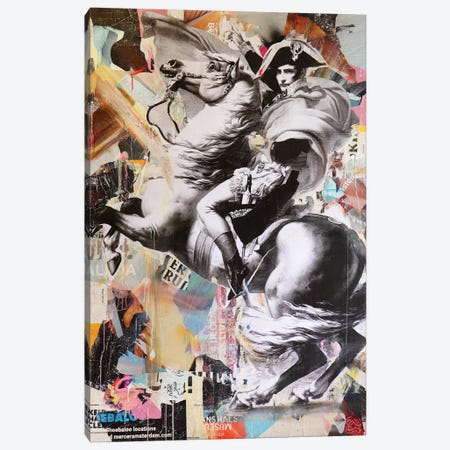 Battre Pour L'Avenir III Canvas Print #MGF166} by Michiel Folkers Art Print