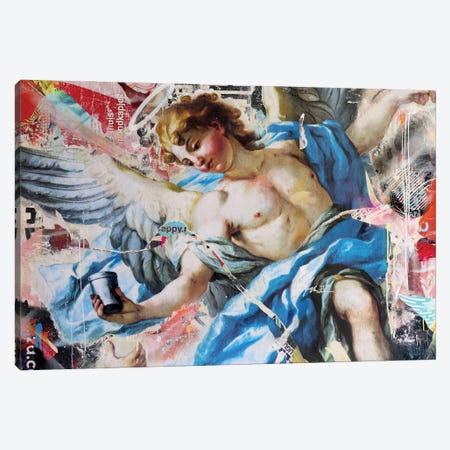 Pass Me My Cup Canvas Print #MGF168} by Michiel Folkers Canvas Wall Art