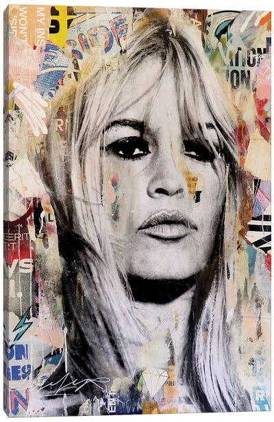 Brigitte III Canvas Art Print