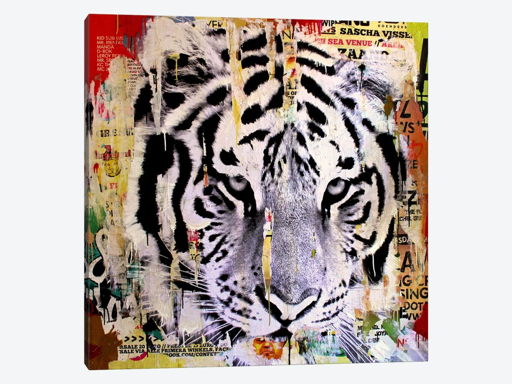 Tigerstyle II by Michiel Folkers 1-piece Canvas Art