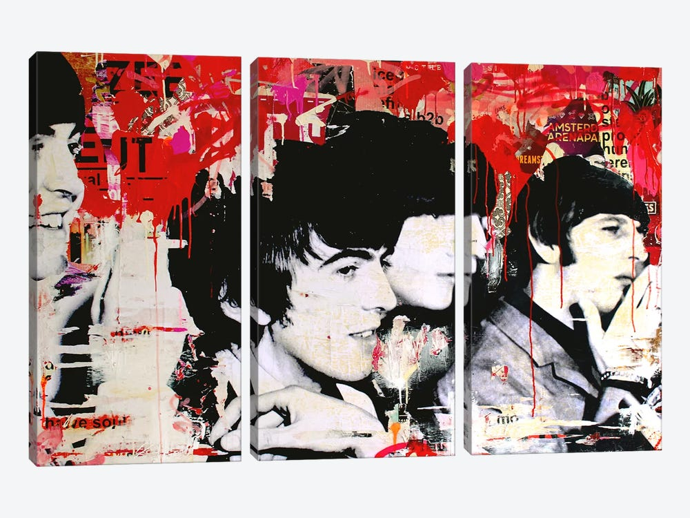 All We Need Is Love by Michiel Folkers 3-piece Canvas Artwork