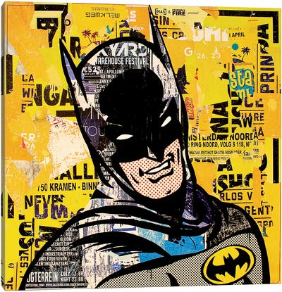 Batman Canvas Art Print