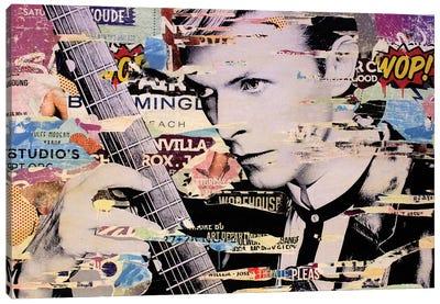 David Bowie Canvas Art Print