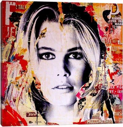 Claudia S. Canvas Art Print