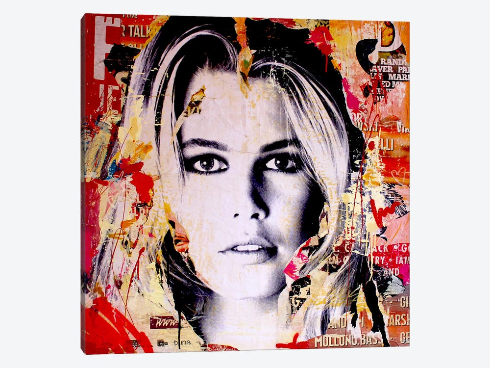Claudia S. by Michiel Folkers 1-piece Art Print