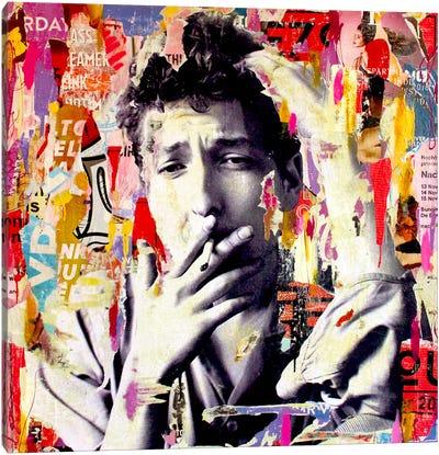 Bob Dylan Canvas Print #MGF2