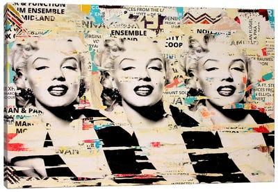 Marilyn, Marilyn, Marilyn Canvas Print #MGF32
