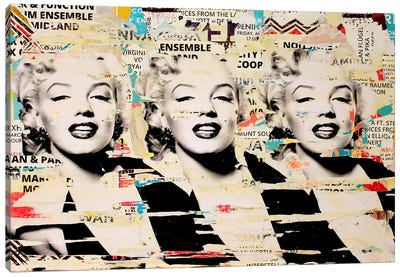 Marilyn, Marilyn, Marilyn Canvas Art Print