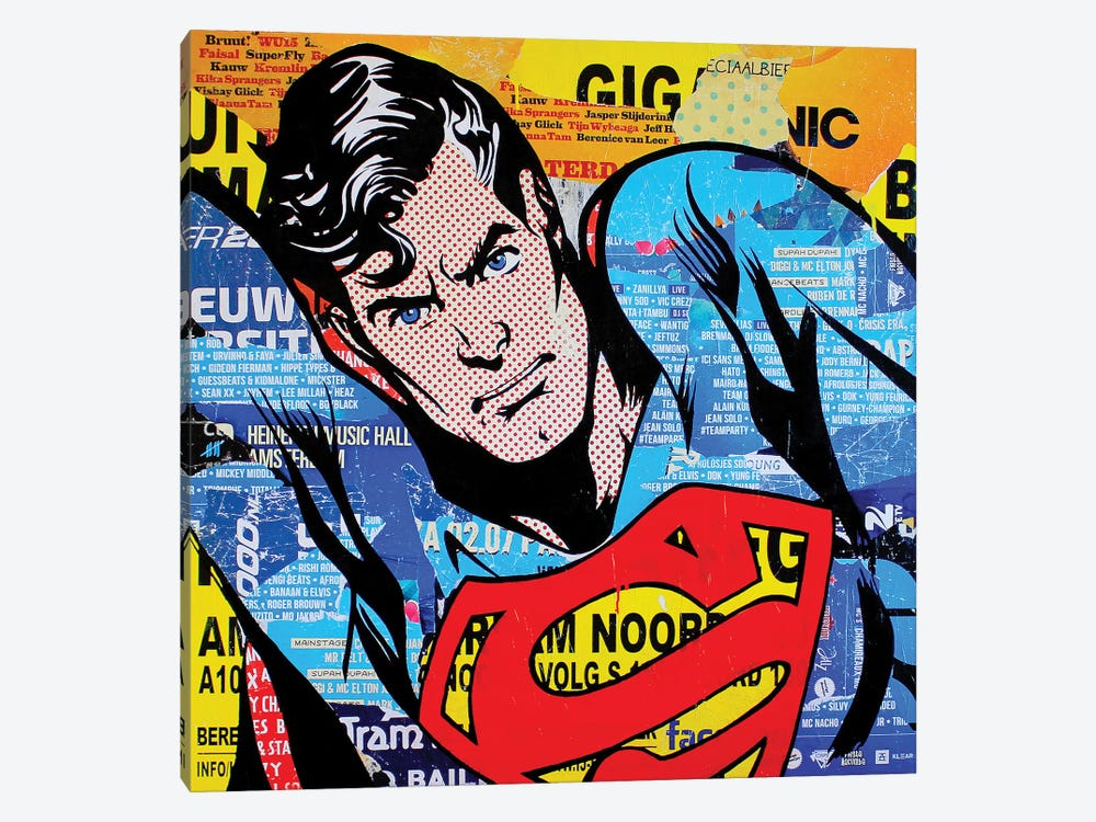 Superman by Michiel Folkers 1-piece Art Print