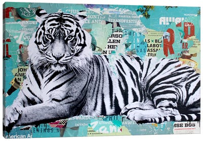 Tigerstyle III Canvas Art Print