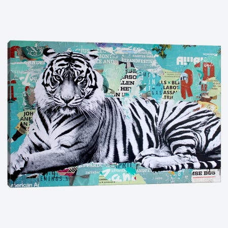 Tigerstyle III Canvas Print #MGF40} by Michiel Folkers Canvas Art Print