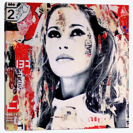 Ursula Andress Canvas Print #MGF41} by Michiel Folkers Canvas Print