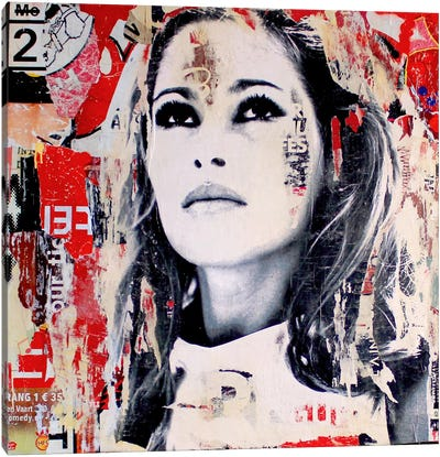 Ursula Andress Canvas Art Print