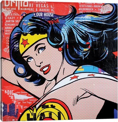 Wonder Woman I Canvas Art Print
