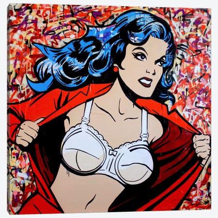 Wonder Woman II Canvas Print #MGF43} by Michiel Folkers Canvas Art Print