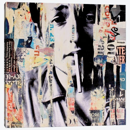Bob Dylan II Canvas Print #MGF44} by Michiel Folkers Canvas Artwork