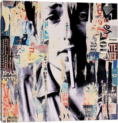 Bob Dylan II Canvas Art Print