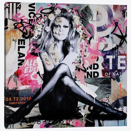 Brigitte Is In St.Tropez Again III Canvas Print #MGF46} by Michiel Folkers Canvas Artwork