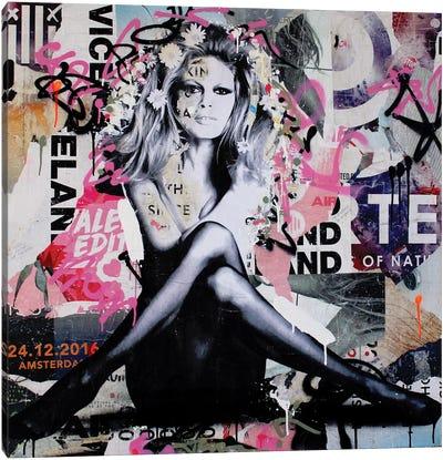 Brigitte Is In St.Tropez Again III Canvas Art Print