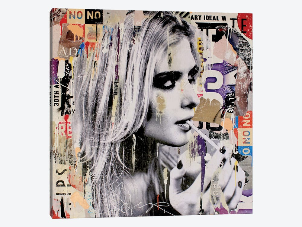 Going Good, Going Bad by Michiel Folkers 1-piece Canvas Artwork