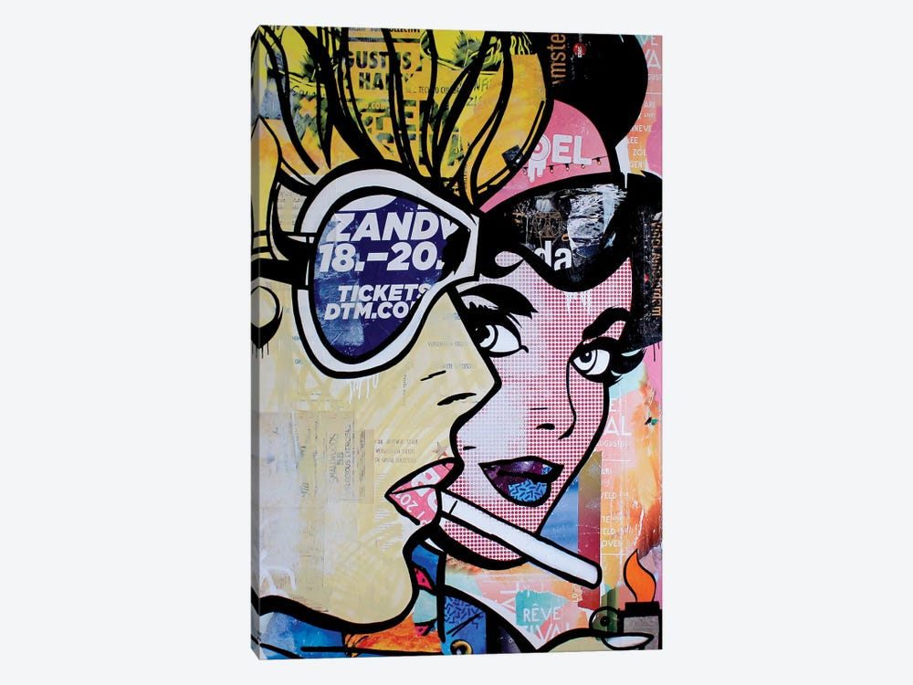 Satisfaction Kills Desire by Michiel Folkers 1-piece Canvas Print